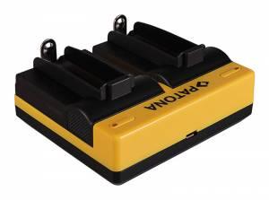Dual- Ladegerät für E-Zigaretten Akku Typ 18650, inkl. Micro USB Kabel